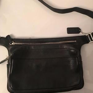 bbdaeafef37 Coach Legacy Leather Waist Pouch